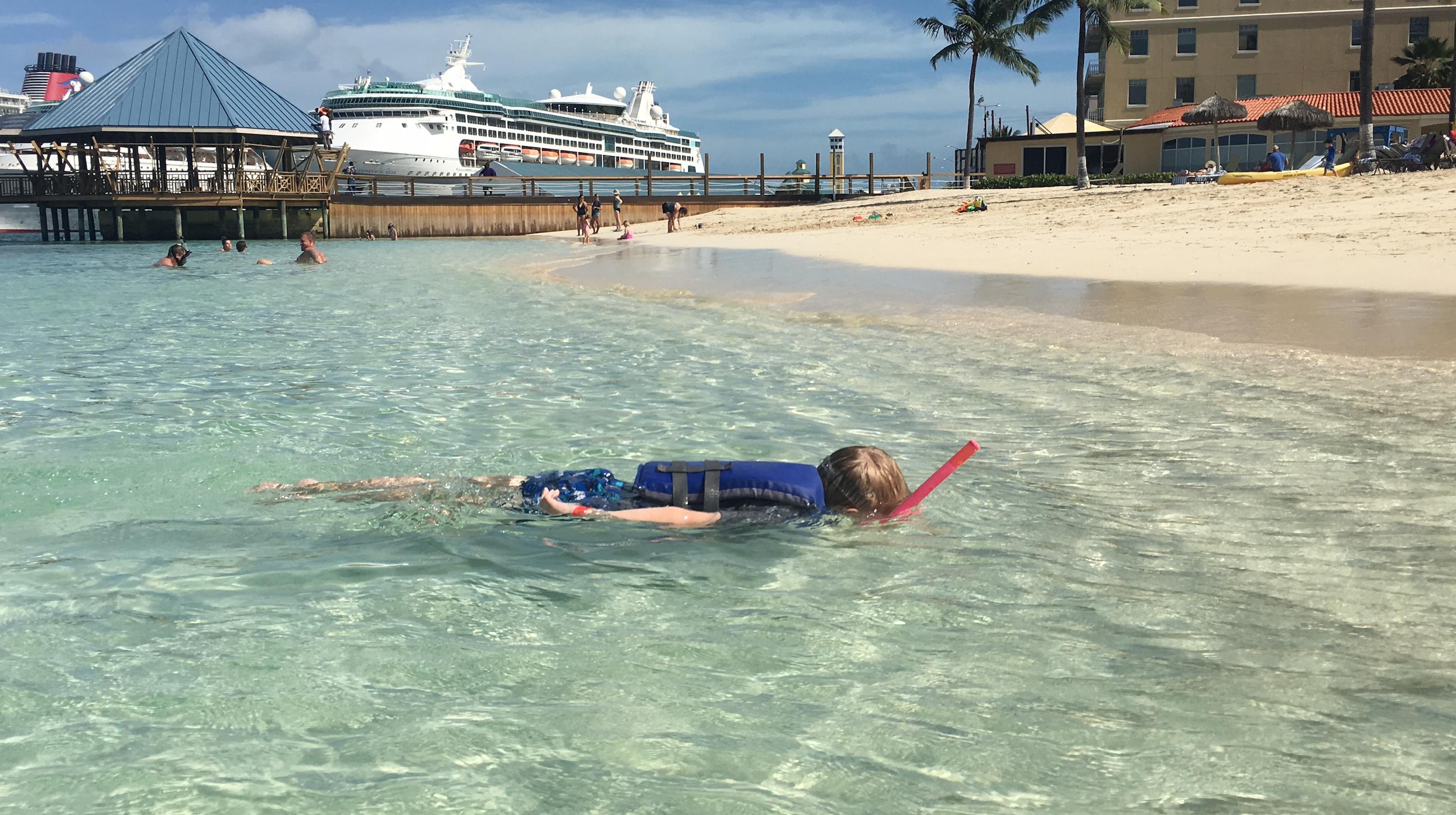keenan snorkeling